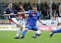 30/08/2008  Copyright Pic: James Stewart.File Name : sct_jspa01_falkirk_v_ict.GARRY WOOD GETS THE BALL AWAY FROM PATRICK CREGG.James Stewart Photo Agency 19 Carronlea Drive, Falkirk. FK2 8DN      Vat Reg No. 607 6932 25.James Stewart Photo Agency 19 Carronlea Drive, Falkirk. FK2 8DN      Vat Reg No. 607 6932 25.Studio      : +44 (0)1324 611191 .Mobile      : +44 (0)7721 416997.E-mail  :  jim@jspa.co.uk.If you require further information then contact Jim Stewart on any of the numbers above........