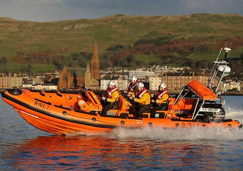 Largs RNLI's inshore lifeboat RA Wilson
