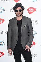 Gaz Coombs<br /> arrives for the 2016 Ivor Novello Awards at the Grosvenor House Hotel, London.<br /> <br /> <br /> ©Ash Knotek  D3121  19/05/2016
