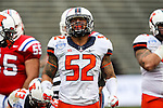 Illinois Fighting Illini linebacker T.J. Neal (52) in action during the Heart of Dallas Bowl Bowl game between the Illinois Fighting Illini and the Louisiana Tech Bulldogs at the Cotton Bowl Stadium in Dallas, Texas. Louisiana defeats Illinois 35 to 18.