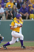 June 5, 2010: Micah Gibbs of LSU during NCAA Regional game against UCLA at Jackie Robinson Stadium in Los Angeles,CA.  Photo by Larry Goren/Four Seam Images