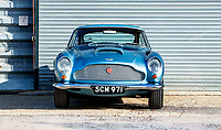 BNPS.co.uk (01202 558833)<br /> Pic: Bonhams/BNPS<br /> <br /> All original - Aston Martin DB4 GT - One of only 9 ever built.<br /> <br /> A super rare Aston Martin sports car has sold at auction for a whopping £2.4m after an incredible 54 years in the same ownership.<br /> <br /> The DB4 GT Lightweight dates back to 1961 and was one of only nine of its kind to be built by the British marque.<br /> <br /> Its first owner was gentleman racer and Northern industrialist Phil Scragg but it was purchased by engineer Malcolm Cramp in 1965.