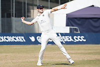 Tom Helm of Middlesex CCC fields during Middlesex CCC vs Hampshire CCC, Bob Willis Trophy Cricket at Radlett Cricket Club on 11th August 2020