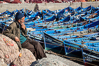 Essaouira, Morocco.  Small Boat Harbor.  How do I move my boat?