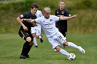 Kailan Gould of Hawke's Bay United during the ISPS Handa Men's Premiership - Team Wellington v Hawke's Bay United at David Farrington Park, Wellington on Saturday 21 November 2020.<br /> Copyright photo: Masanori Udagawa /  www.photosport.nz