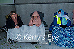 Debenham ex workers manning the protest line at 4am on Friday morning as they await the trucks that were coming to the store to collect goods, which turned out to be a no show from the trucks. L to r: Sabrina Kelly, Trish O'Sullivan and Rita Gleeson.