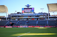 CARSON, CA - FEBRUARY 07: Dignity Health Sports Complex during a game between Canada and Costa Rica at Dignity Health Sports Park on February 07, 2020 in Carson, California.