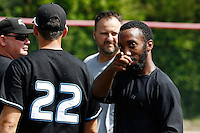 19 August 2012:  during Rouen 12-8 win over Senart, during game 4 of the French championship finals, in Rouen, France.