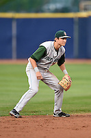 Fort Wayne TinCaps shortstop Trea Turner (5) during a game against the Lake County Captains on August 21, 2014 at Classic Park in Eastlake, Ohio.  Lake County defeated Fort Wayne 7-8.  (Mike Janes/Four Seam Images)