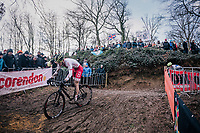 Tomasz Budzinski (POL)<br /> <br /> U23 Men's Race<br /> UCI CX Worlds 2018<br /> Valkenburg - The Netherlands
