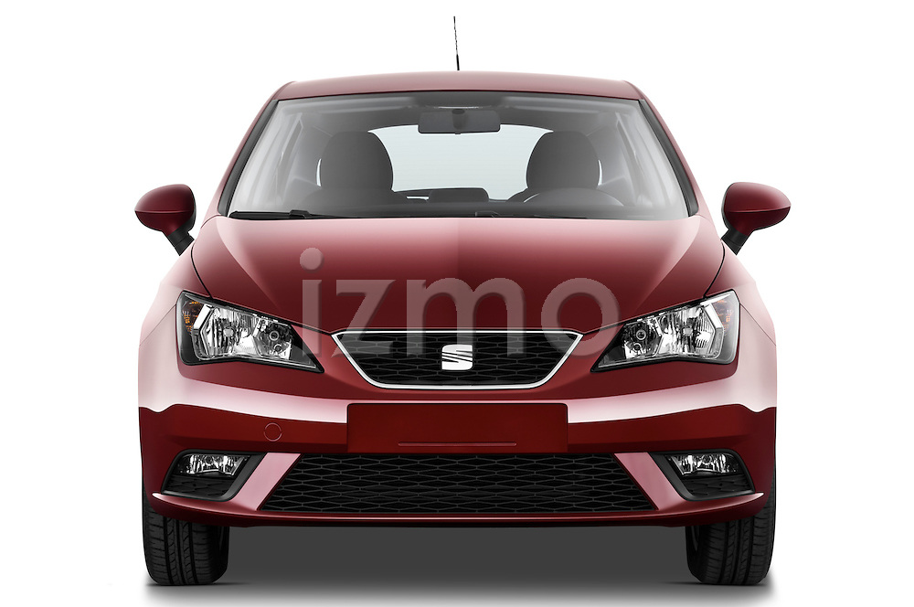 Straight front view of a 2013 Seat Ibiza Style Hatchback