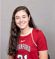 Kelsey Murray  with the Stanford Lacrosse Team. Photo taken on Wednesday, January 15, 2014
