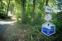 Kluisbos atop the Kluisberg in Kluisbergen<br /> <br /> cycling hotspots & impressions in the Vlaamse Ardennen (Flemish Ardennes) <br /> <br /> Cycling In Flanders <br /> Flanders Tourist Board<br /> <br /> ©kramon