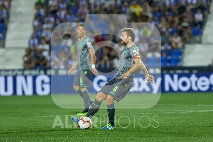 Real Sociedad's Asier Illarramendi during La Liga match. August 24, 2018. (ALTERPHOTOS/A. Perez Meca)