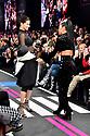 Adriana Lima und Nicole Scherzinger bei der Maybelline Fashion Show auf der Fashion Week Berlin Autumn/Winter 2019 im Postbahnhof. Berlin, 17.01.2019