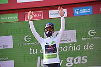 3rd September 2021; Tapia to Monforde de Lemos, Asturias, Spain; stage 19 of Vuelta a Espanya cycling tour;  IneGrenadiers Bernal Gomez, Arley Monforte De Lemos