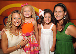 From left: Kimberly Roth, Bridget Roth, Peyton Walsh and Erica Walsh at the University of Texas M.D. Anderson Cancer Center and The Galleria's Back to School Fashion Show benefitting pediatric cancer patients at The Galleria Saturday August 25,2012.(Dave Rossman Photo)