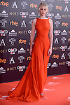 Ingrid Garcia Jonsson attends to the Red Carpet of the Goya Awards 2017 at Madrid Marriott Auditorium Hotel in Madrid, Spain. February 04, 2017. (ALTERPHOTOS/BorjaB.Hojas)