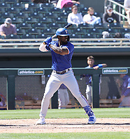 Adolis Garcia - Texas Rangers 2021 spring training (Bill Mitchell)