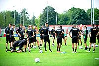 GRONINGEN - Voetbal, Eerste training selectie FC Groningen, seizoen 2021-2022, 26-06-2021, FC Groningen trainer Danny Buijs geeft uitleg aan de groep