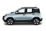 Car Driver side profile view of a 2020 Fiat Panda-Cross Launch-Edition 5 Door Hatchback Side View
