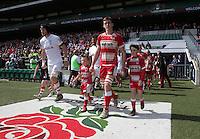 Photo: Matthew Impey/Richard Lane Photography. Longlevens v Rugby Lions. Junior Vase Final at Twickenham. 04/05/2014.