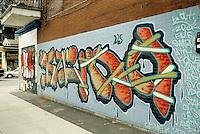 1990 File Photo - Montreal (qc) CANADA -   Graffiti