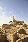 Israel, Jerusalem mountains, Nabi Samuel on Mount Shmuel