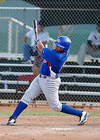 Sergio Burruel - Chicago Cubs 2009 Instructional League .Photo by:  Bill Mitchell/Four Seam Images..
