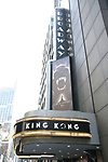 'King Kong' - Alive on Broadway - Theatre Marquee unveiling