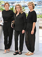 Peaceful Photocall at the 74th Festival de Cannes