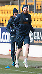 St Johnstone Training…12.12.17<br />Brian Easton and Murray Davidson pictured during training this morning at McDiarmid Park ahead of tomorrow's game against Aberdeen<br />Picture by Graeme Hart.<br />Copyright Perthshire Picture Agency<br />Tel: 01738 623350  Mobile: 07990 594431