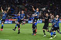 esultanza a fine gara Inter<br /> Milano 27-5-2019 Stadio San Siro Football Serie A 2018/2019 Inter - Empoli<br /> photo Matteo Gribaudi / Image Sport / Insidefoto