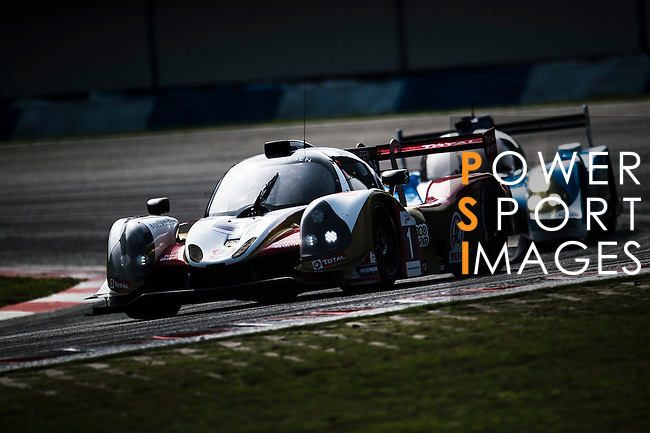 Jackie Chan DC Racing, #1 Ligier JSP3, driven by David Cheng, Pu Jun Jin and James Winslow in action during the 2016-2017 Asian Le Mans Series Round 1 at Zhuhai Circuit on 30 October 2016, Zhuhai, China.  Photo by Marcio Machado / Power Sport Images