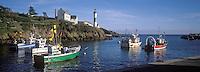 Europe/France/Bretagne/29/Finistère: Doelan le port bateau de pèche et le phare