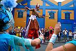 Carnaval de rua. Bloco afro Ilú Obá De Min. São Paulo. 2014. Foto de Juca Martins.