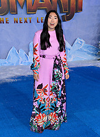 "LOS ANGELES, USA. December 10, 2019: Awkwafina at the world premiere of ""Jumanji: The Next Level"" at the TCL Chinese Theatre.<br /> Picture: Paul Smith/Featureflash"