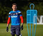 8.3.2018: Rangers training:<br /> James Tavernier