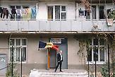 Voting station in building of student dormitory in  Chisinau, Republic of Moldova.   / Präsidentenwahl in der Republik Moldau am 30.10.2016 in Chisinau