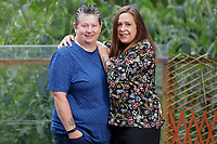 Pictured L-R: Kim and Michelle Harry-Young. Wednesday 26 June 2019 <br /> Re: Kim who has been caring for her partner Michelle Harry-Young in Newport, Wales, UK.