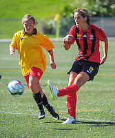 150412 Central League Women's Football - Brooklyn Northern United v Moturoa
