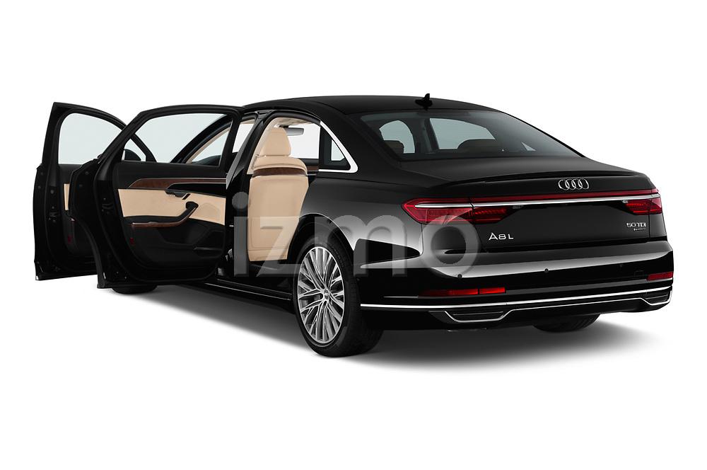 Car images of 2019 Audi A8-L Avus-Extended 4 Door Sedan Doors