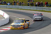 NASCAR Camping World Truck Series<br /> Chevrolet Silverado 250<br /> Canadian Tire Motorsport Park<br /> Bowmanville, ON CAN<br /> Sunday 3 September 2017<br /> Todd Gilliland, Pedigree Toyota Tundra and Ben Rhodes, Safelite Auto Glass Toyota Tundra<br /> World Copyright: Russell LaBounty<br /> LAT Images