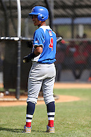 Miguel Jerez participates in the Dominican Prospect League 2014 Louisville Slugger Tournament at the New York Yankees academy in Boca Chica, Dominican Republic on January 20-21, 2014 (Bill Mitchell)