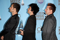 Green Day.The 2009 American Music Awards - Press Room.Nokia Theatre L.A. Live.Los Angeles, CA.November 22, 2009.©2009 Hutchins Photo....