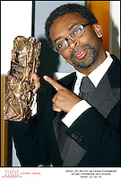 """Feb 22, 2003; Paris, Ile de France, FRANCE; Spike LEE have received a Honor Cesar, at the 28 th Ceremony of the """" Cesar """" Awards in Paris (ThÈatre du Chatelet).<br /> Mandatory Credit: Photo by STEPH / VISUAL Press Agency .<br /> (©) Copyright 2003 by VISUAL Press Agency"""