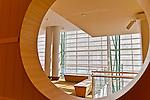 Architectural details from Schuster Center interior, Dayton Ohio.