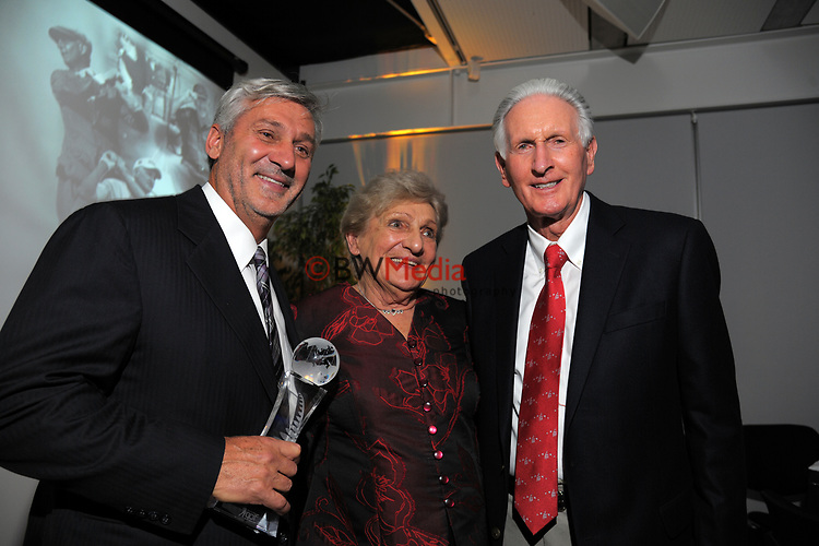 The 2017 NZ Golf Hall Of Fame induction ceremony at the Wharewaka Function Centre in Wellington, New Zealand on Tuesday, 24 October 2017. Photo: Dave Lintott / lintottphoto.co.nz