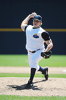 Trenton Thunder pitcher Branden Pinder (36) during game against the New Hampshire Fisher Cats at ARM & HAMMER Park on May 2, 2013 in Trenton, NJ.  Trenton defeated New Hampshire 2-1.  Tomasso DeRosa/Four Seam Images