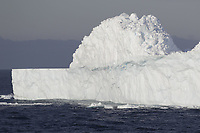 Collapsed iceberg south orkney islands, Scotia sea, Southern Ocean, Antarctica